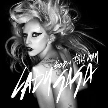 lady gaga born this way album cover art. In true Gaga fashion,