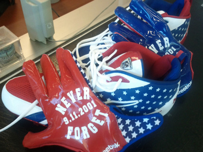 Chicago Bears' Lance Briggs To Wear 9/11 Tribute Gear