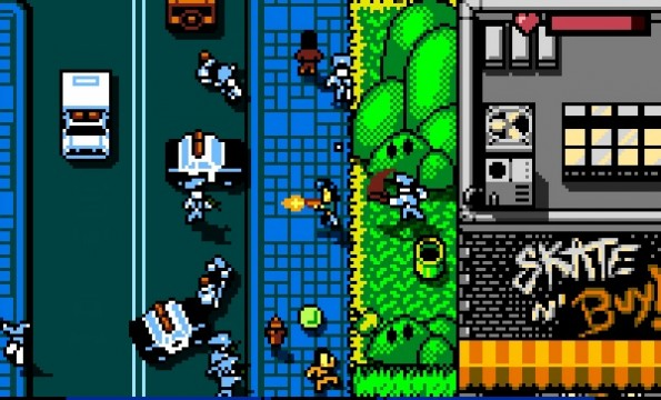 large2 595x360 Retro City Rampage: DX Review