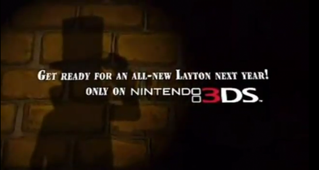 New Professor Layton Hitting 3DS In Europe, North America Soon To Follow?