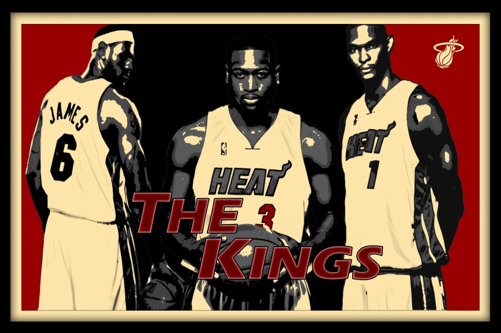 Lebron, Bosh And Wade To Debut Tonight