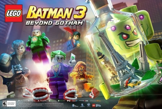 lego batman 3 brainiac art