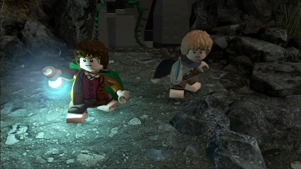 lego lord of the rings comic con 06 600x337 LEGO The Lord Of The Rings: The Video Game Review