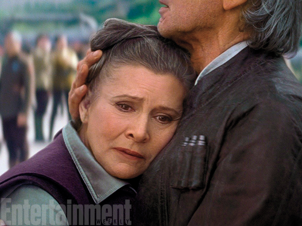 Carrie Fisher's Leia No Longer Goes By 'Princess' In Star Wars: The Force Awakens