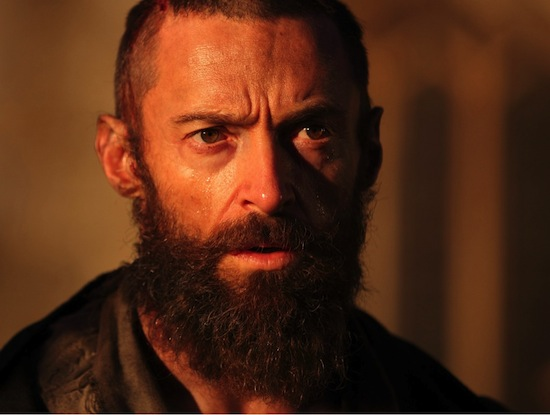 les miserables movie image hugh jackman Fall Movie Preview Spectacular! Part 4   The Films of December