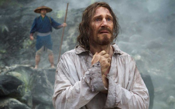 First Look At A Bearded Liam Neeson In Martin Scorsese's Religious Drama Silence