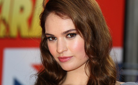 Lily James Will Pucker Up For The Kaiser's Last Kiss
