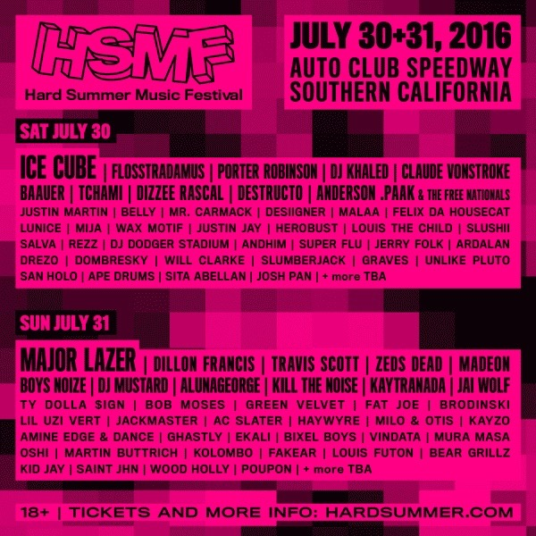 HARD Summer Finally Delivers Official 2016 Trailer And Lineup
