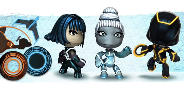 Tron: Legacy Pack & Website Updates Released For LittleBigPlanet 2