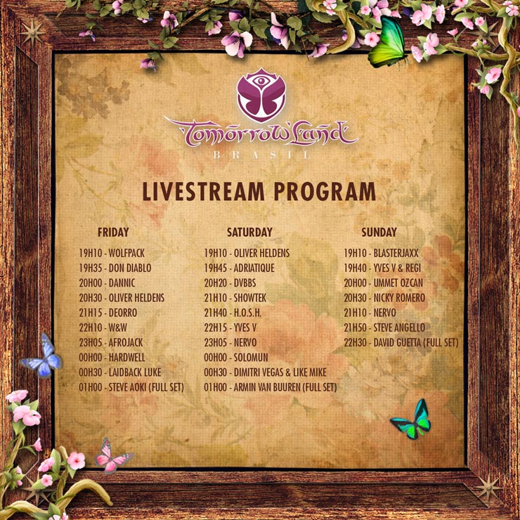 Live Stream Tomorrowland Brasil 2015 All Weekend Long Right Here