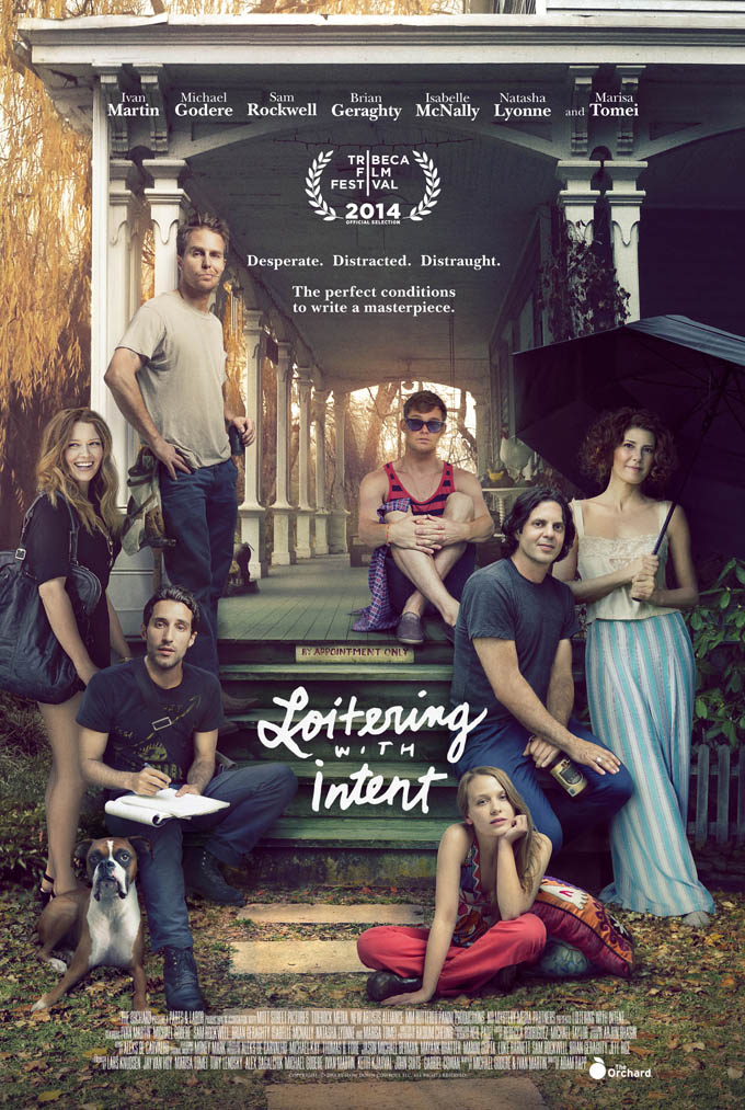 Learn A Lesson In Starry Trailer For Screenwriting Comedy Loitering With Intent