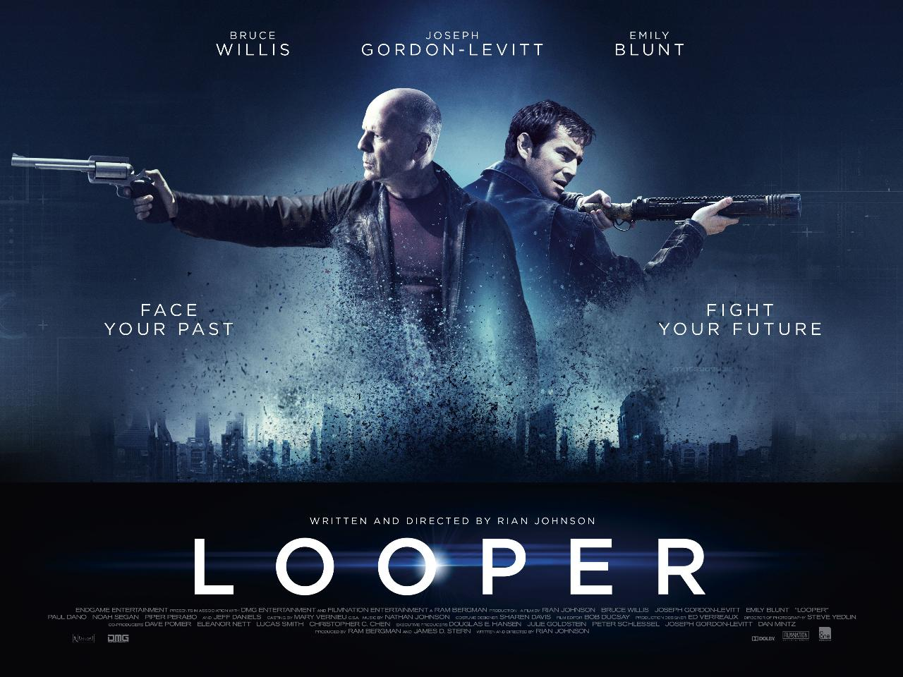 New Looper Poster Released