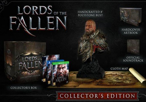 lords of the fallen collectors edition