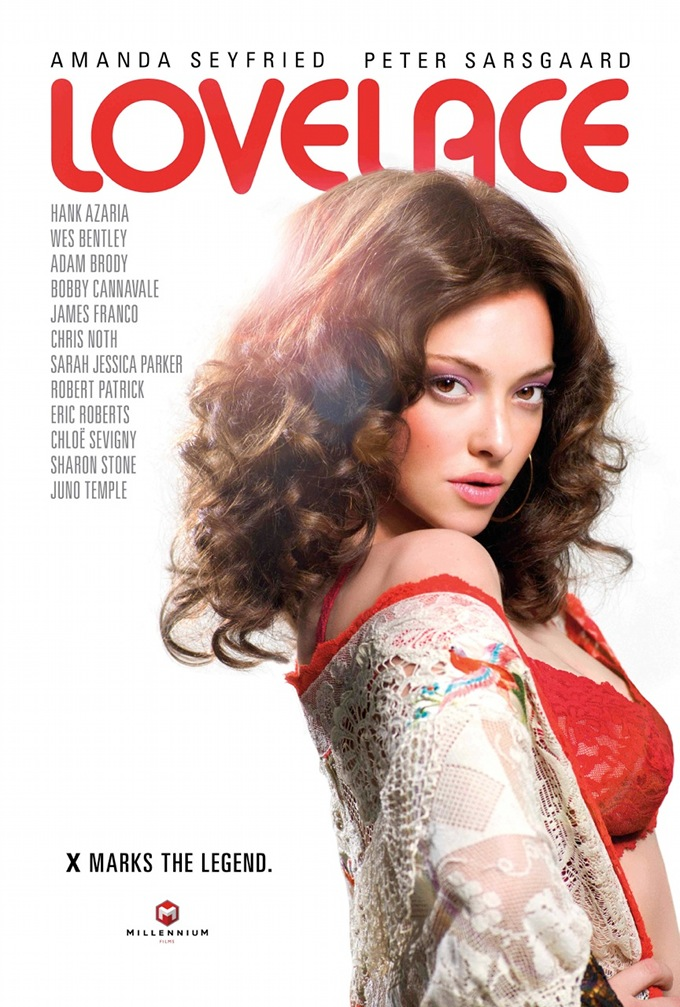 lovelace poster First Poster For Lovelace Starring Amanda Seyfried And Peter Sarsgaard