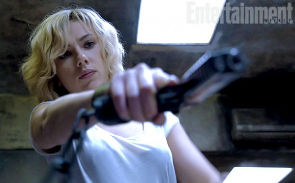 Scarlett Johansson Is A Brainy Butt-Kicker In First Trailer For Lucy