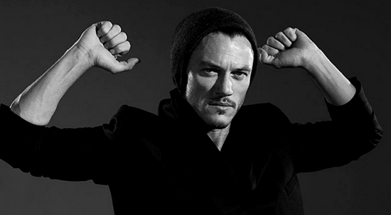 The Crow Takes Off With Luke Evans