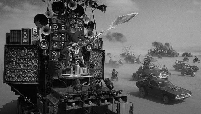 Black And White Cut Of Mad Max: Fury Road Set To Hit Theaters In 2016