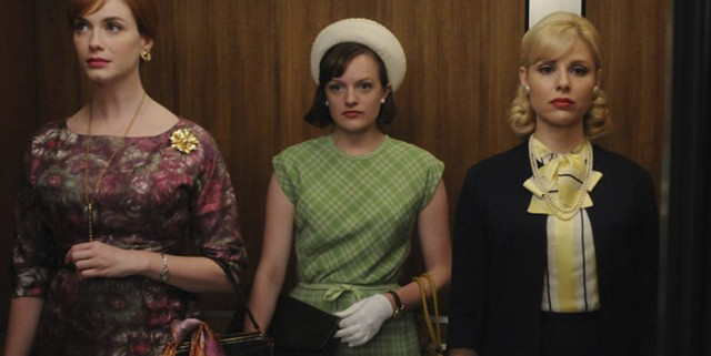 mad men the beautiful gils joan peggy faye 640x321 Mad Men Gallery