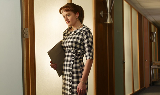 mad men elisabeth moss peggy olson1 Mad Men Gallery