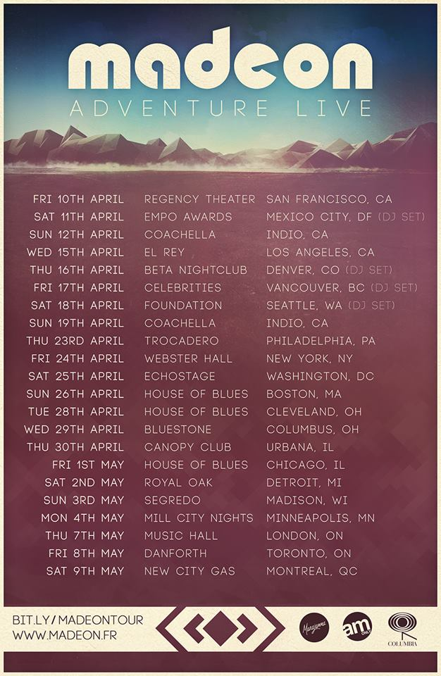 Madeon Announces North American Tour For This Spring