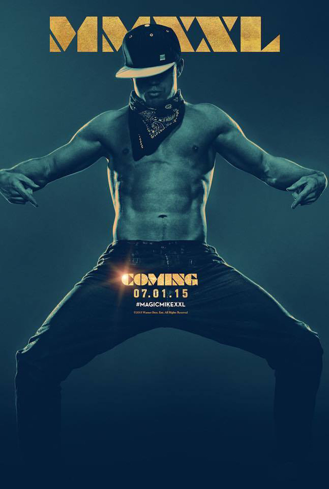 First Magic Mike XXL Poster Leaves Little To The Imagination
