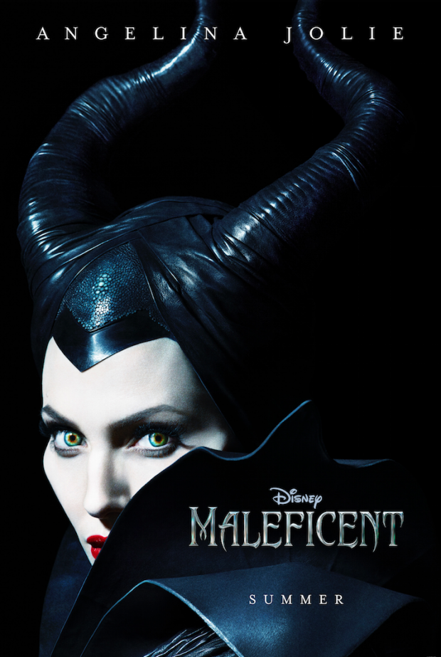 Check Out This Diabolical First Poster For Disney's Maleficent