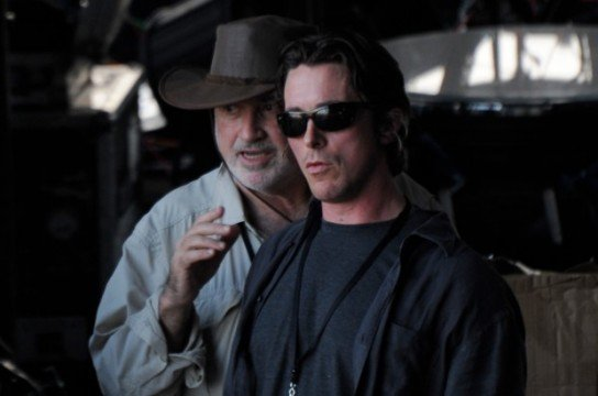 Terrence Malick And Christian Bale Seen Filming In Austin
