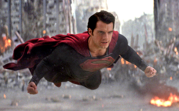 man of steel superman battles zod The Top 10 Movie Moments Of 2013 So Far