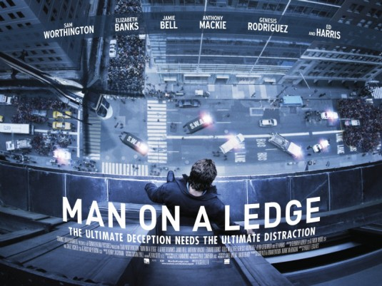 man on a ledge ver2 The Top 10 Movie Posters Of 2012