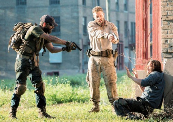 Shia La Beouf And Jai Courtney Are Packing Heat In First Pic From Man Down