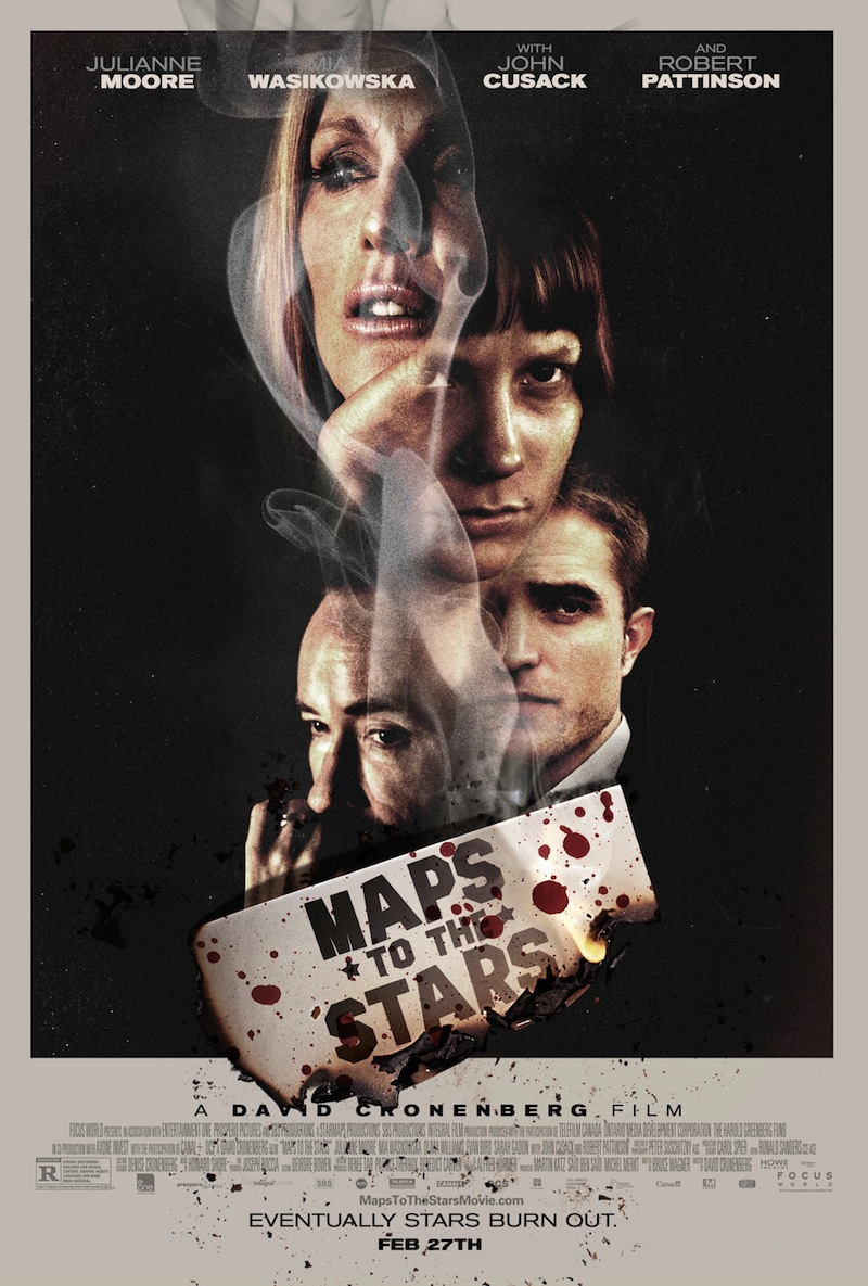 Beautiful New Poster And Trailer Land For David Cronenberg's Maps To The Stars
