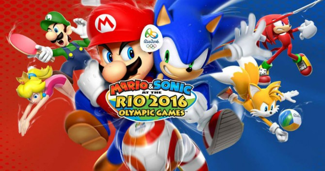Mario & Sonic At The Rio 2016 Olympic Games Has Been Dated For Nintendo Wii U And 3DS