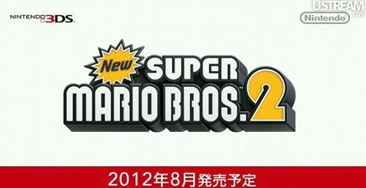 New Super Mario Bros. 2 Launching This August For 3DS