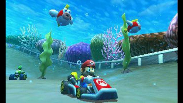 Mario Kart 3DS Goes Underwater And Soars In The Air This Holiday