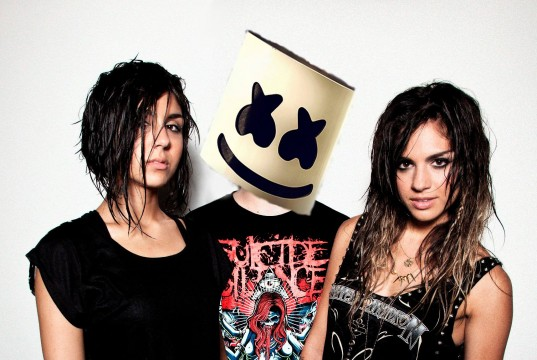 Marshmello And Krewella Hint At Possible Collaboration