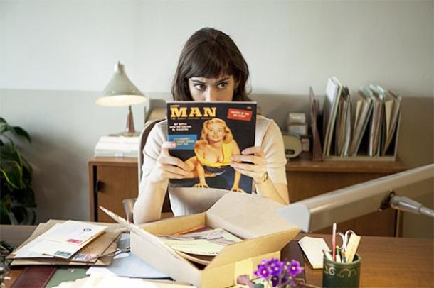Lizzy Caplan in Master of Sex