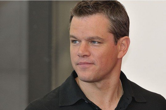 matt damon 2 537x357 Matt Damon Interested In Catholic Church Sex Scandal Drama