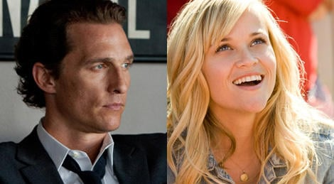 Reese Witherspoon And Matthew McConaughey May Play In Mud