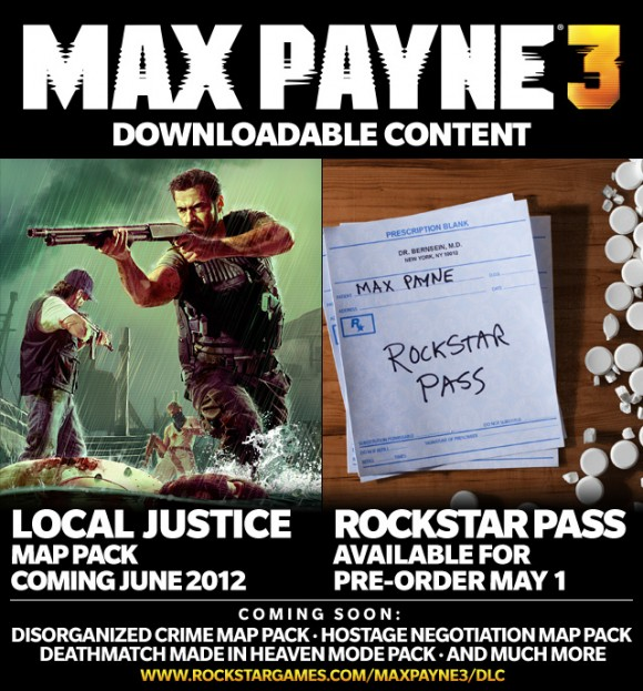 Max Payne 3 Will Receive Several Separate Sets Of DLC; Pricing And Release Schedule Emerge