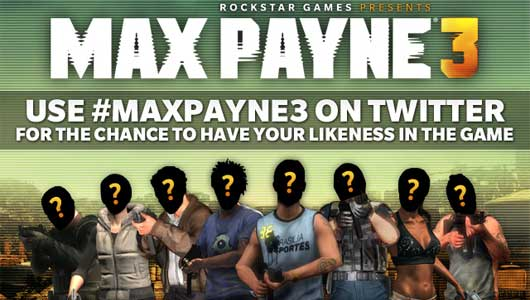 Max Payne 3 Twitter Contest Will Put Winners In The Game