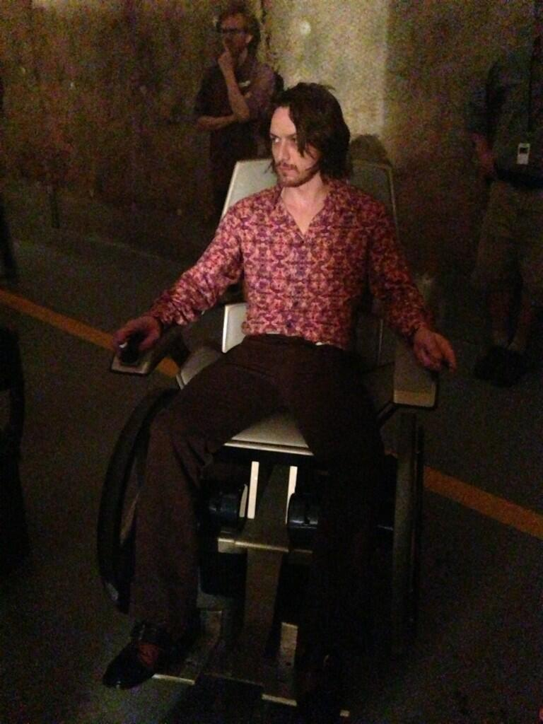James McAvoy To Play Professor Xavier As A Bee Gee In X-Men: Days Of Future Past