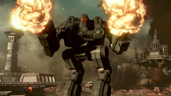 MechWarrior Online Coming To Steam Next Month