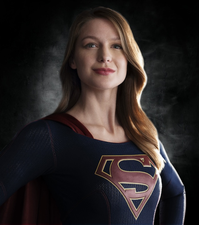 First Look At Melissa Benoist In Costume As Supergirl