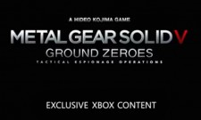 Metal Gear Solid V: Ground Zeroes Has Xbox One Exclusive Content Too