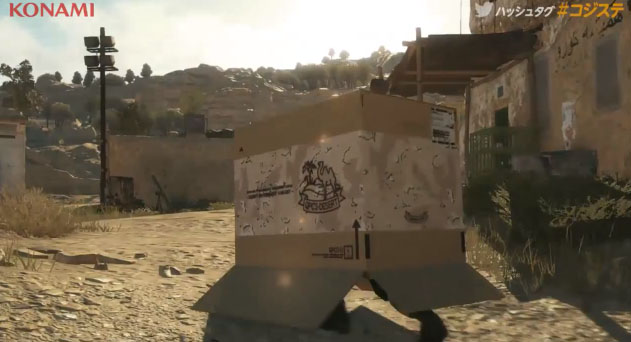 Latest Trailer For Metal Gear Solid V: The Phantom Pain Explores The Many Uses For A Box