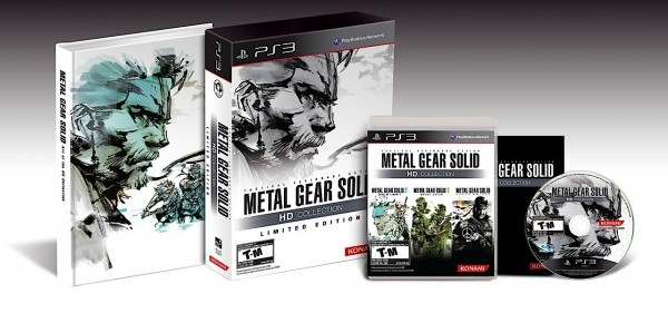 Metal Gear HD Collection Sneaks Into Europe On February 3rd