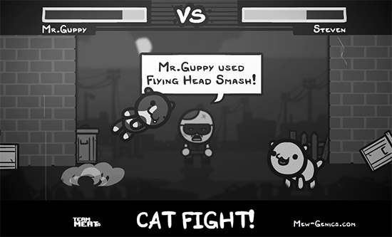 Team Meat Teases Mew-Genics Cat Fights, Full Reveal Next Week