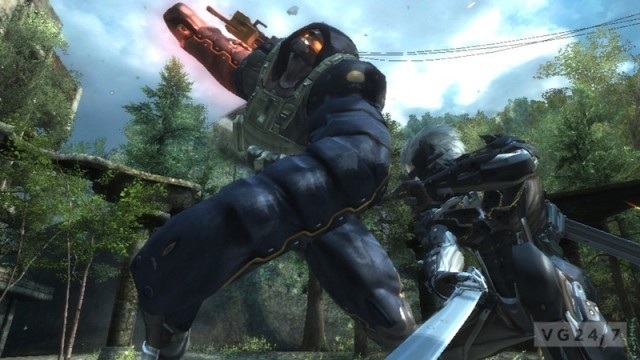 Metal Gear Rising: Revengeance Gets Bloody With New E3 Screens