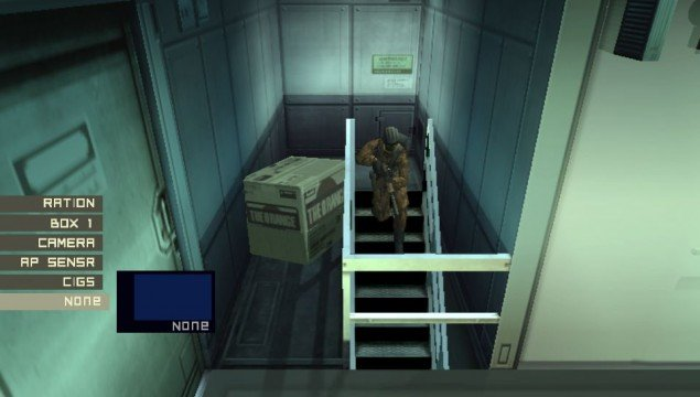 New Screens For Vita's Metal Gear Solid HD Collection