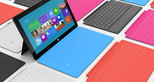 Microsoft Introduces The Surface